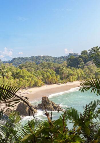 ساحل Playa Manuel Antonio؛ کاستاریکا