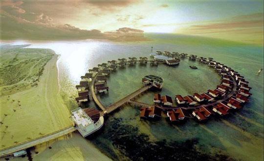 هتل ساحلی ترنج، جزیره کیش