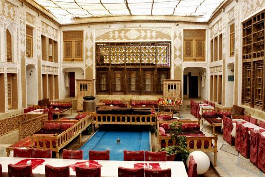 هتل آنتیک ملک التجار، یزد