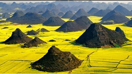 لوئوپینگ بازین، چین (Luiping Basin, Qujing Prefecture, China)
