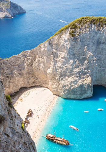 Navagio Beach؛ یونان