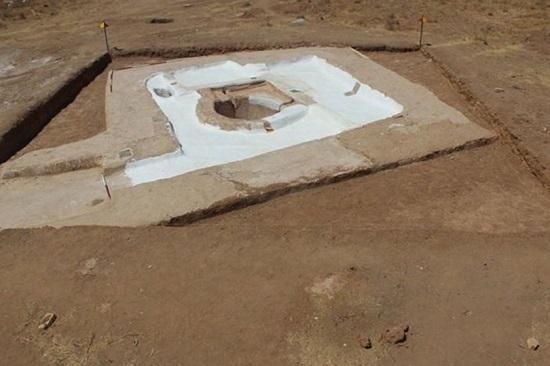 کشف یک سازه معماری از دوره ساسانیان