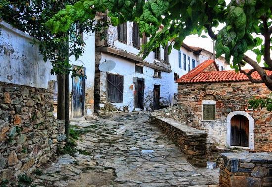 روستای قدیمی یونانی ها به نام شیرینجه در ازمیر