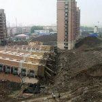 ۲۲ کشته در ریزش ساختمان های چین