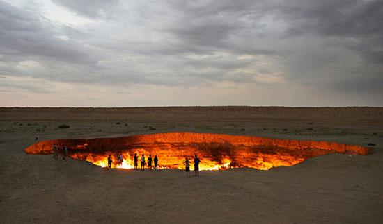 ورودی های جهنم بر روی زمین