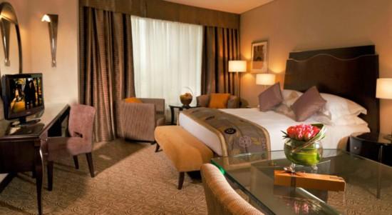 اتاق خواب های هتل رز ریحان دبی