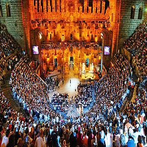جاذبه های گردشگری آنتالیا، آمفی تئاتر آسپندوس