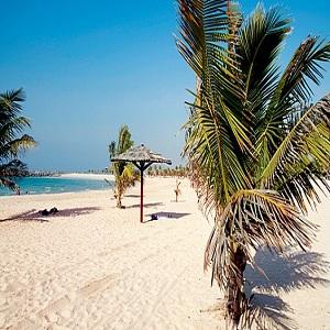 جاذبه های گردشگری دبی (پارک ساحلی الممزر)