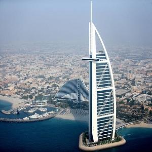 هتل برج العرب (نمای بیرونی)