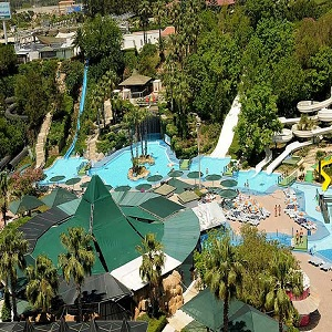 جاذبه های گردشگری آنتالیا، پارک آبی آکوالند