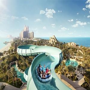 جاذبه های گردشگری دبی (پارک آبی آتلانتیس)