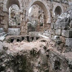 جاذبه های گردشگری آنتالیا، حمام رومی ها آنتالیا