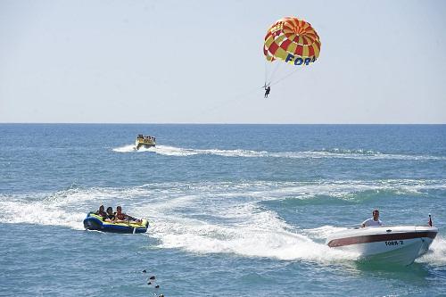امکانات تفریحی هتل کروانسرای لارا آنتالیا (تفریحات آبی)