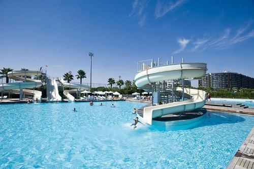 استخر های هتل کروانسرای لارا آنتالیا (پارک آبی)