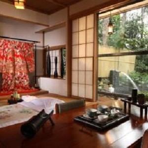 دهکده ژاپنی ها (صرف چای سنتی ژاپنی)