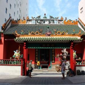 محله چینی ها در کوالالامپور (معبد کوان تی)