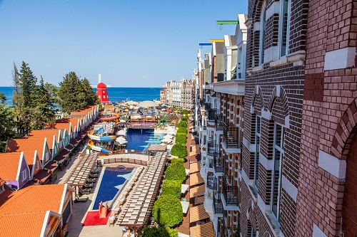 هتل اورنج کانتی آنتالیا (امکانات اقامتی)