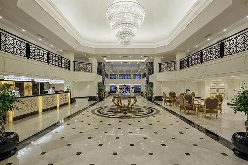 هتل بلیس دلوکس بلک آنتالیا (لابی هتل)