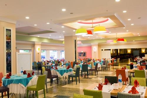 هتل اورنج کانتی آنتالیا (رستوران ها)