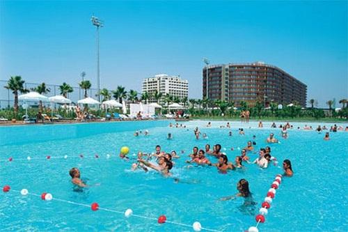 امکانات تفریحی هتل کروانسرای لارا آنتالیا (فعالیت های ورزشی)