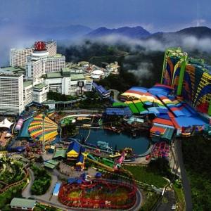 جاذبه های گردشگری مالزی (بلندی های گنتینگ)