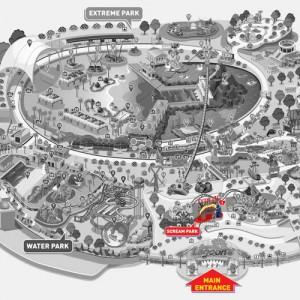 پارک سان وی لاگون (نقشۀ پارک وحشت)
