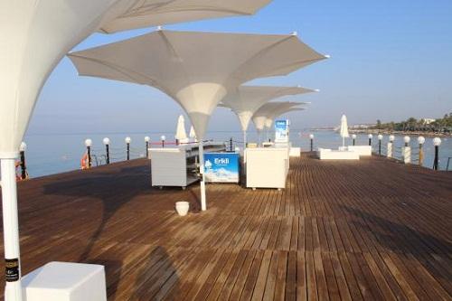 ساحل اختصاصی هتل بلیس دلوکس بلک آنتالیا (اسکلۀ اختصاصی)