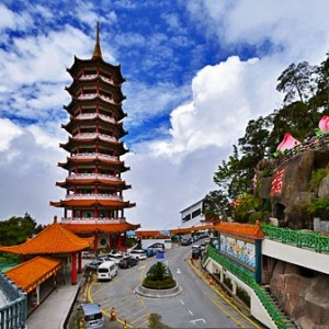 معبد غارِ چین سویی (برج بتکده)