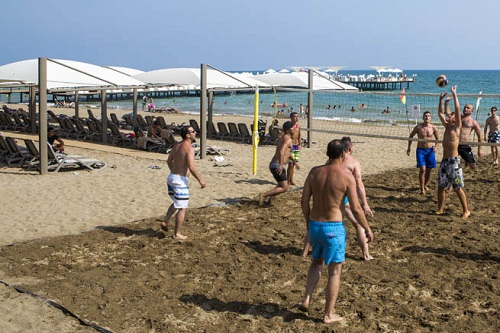 امکانات تفریحی هتل بلیس دلوکس بلک آنتالیا (والیبال ساحلی)