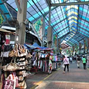 محله چینی ها در کوالالامپور (قسمت مسقف)