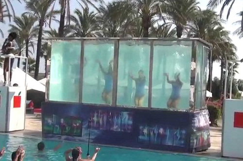 امکانات تفریحی در هتل آدم و حوا (برنامه های کنار استخر ها)