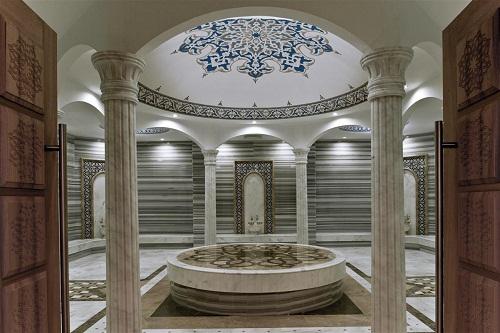 حمام ترکی هتل مکس رویال بلک آنتالیا