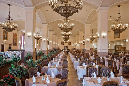 رستوران اصلی هتل وو کرملین