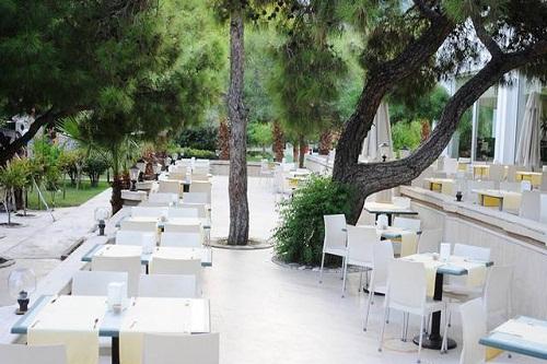 رستوران غذا های دریایی هتل رویال پالم ریزورت کمر آنتالیا Royal Palm Resort