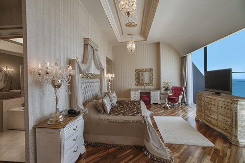 سوئیت های VIP هتل مکس رویال بلک آنتالیا