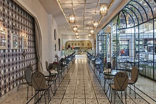 شیرینی پزی Le Mélange هتل مکس رویال بلک آنتالیا