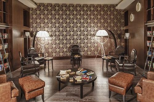 سالن مطالعه هتل مکس رویال بلک آنتالیا