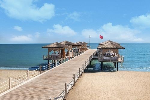 ساحل اختصاصی هتل مکس رویال بلک آنتالیا