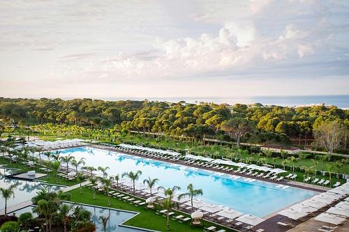 استخر های هتل رگنوم آنتالیا Regnum Carya Resort
