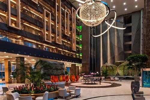 لابی و پذیرش هتل 5 ستاره رگنوم آنتالیا