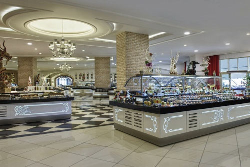 رستوران های هتل دلفین امپریال لارا آنتالیا Delphin Imperial
