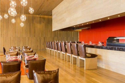 رستوران آسیایی Azure Restaurant مکس رویال بلک آنتالیا