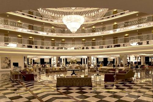 لابی هتل دلفین امپریال لارا آنتالیا