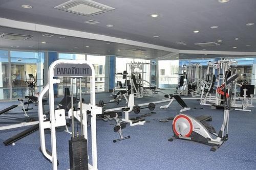 سالن ماساژ هتل رویال پالم ریزورت (سالن تناسب اندام)