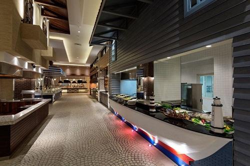 رستوران های هتل تایتانیک دلوکس آنتالیا Titanic Deluxe Belek