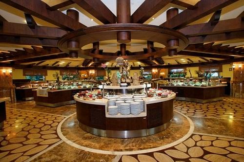 رستوران های هتل رویال وینگز آنتالیا Royal Wings