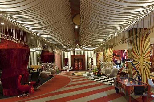 سالن بازی هتل دلفین امپریال لارا آنتالیا Delphin Imperial