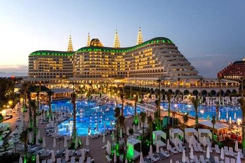 امکانات اقامتی هتل دلفین امپریال لارا آنتالیا Delphin Imperial