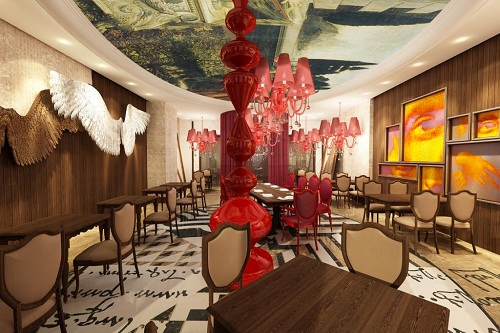 رستوران داوینچی Da Vinci Restaurant هتل دلفین امپریال