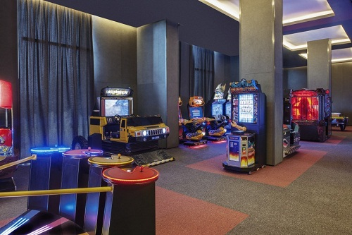 سالن بازی هتل مکس رویال کمر آنتالیا